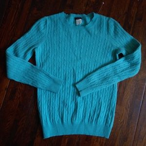 J Crew wool and cashmere sweater size s